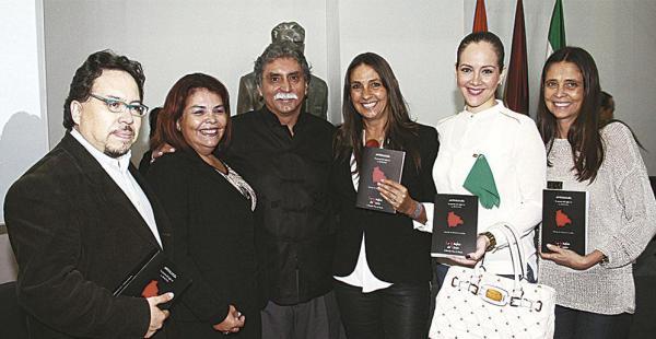 Gabriel Chávez, Carmen Sandóval, Homero Carvalho, Patricia Gutiérrez, Katia Villarroel y Mónica Gutiérrez