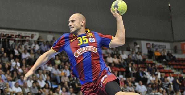 Imagen del jugador ruso Konstantin Igropulo en un partido del Barcelona