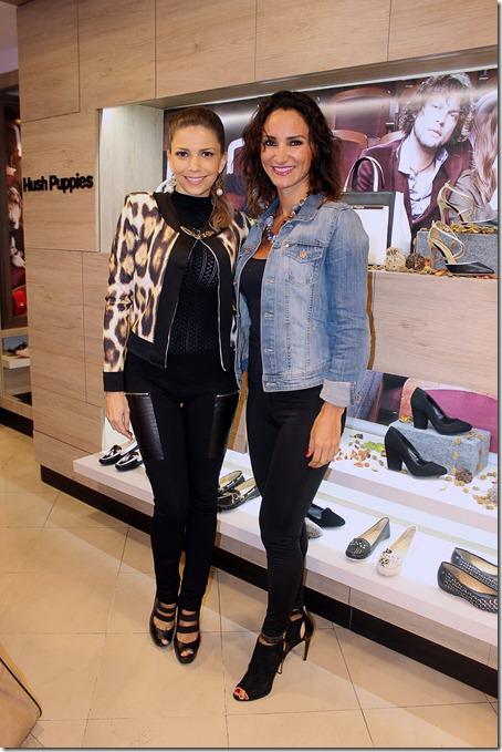 Mikaela Byren e Ingrid Rivero