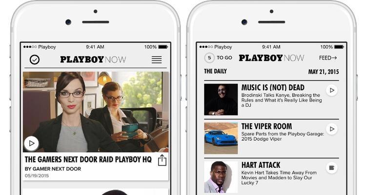 Playboy Now Playboy lanza su aplicación oficial para Android