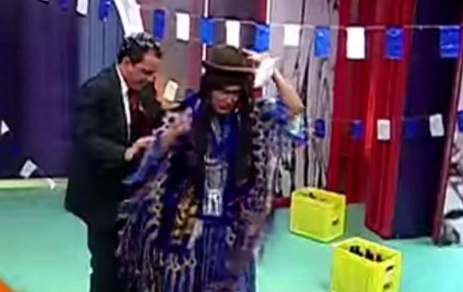Vocal Paredes analiza enjuiciar a Unitel por mofarse de la mujer de pollera en imitación de su cumpleaños azul