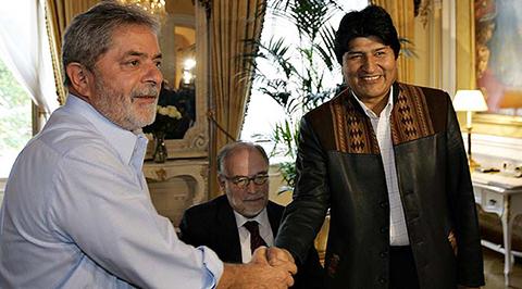 Morales-se-reunira-con-Lula-Da-Silva-el-jueves-en-Rio-Branco-