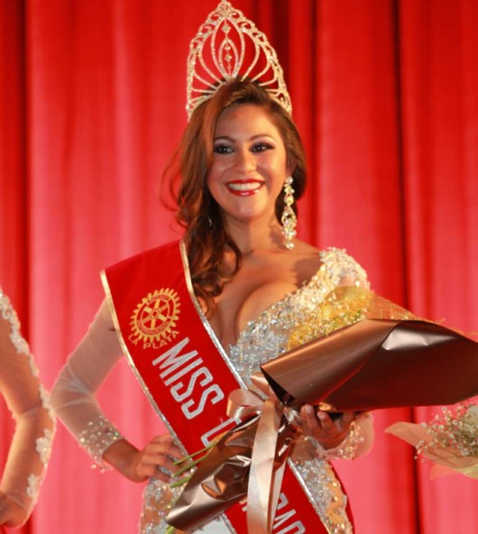 Morelia Herrera  de Muyupampa  es elegida Miss Chuquisaca 2015