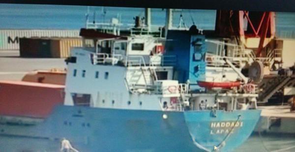 Esta es la imagen del supuesto barco boliviano que circula en el Internet