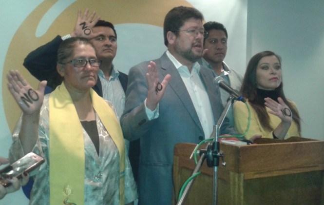 Doria Medina convoca a votar por el No a los estatutos y cartas orgánicas