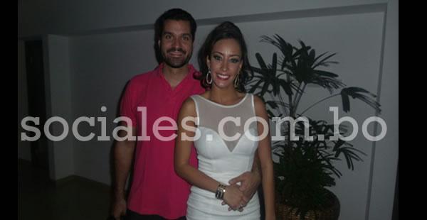 Andrés Gutiérrez y Claudia Tavel fueron parte de los invitados