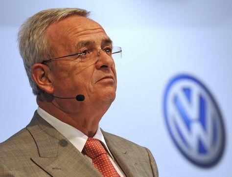 El director en jefe de Volkswagen, Martin Winterkorn. Foto: www.sueddeutsche.de