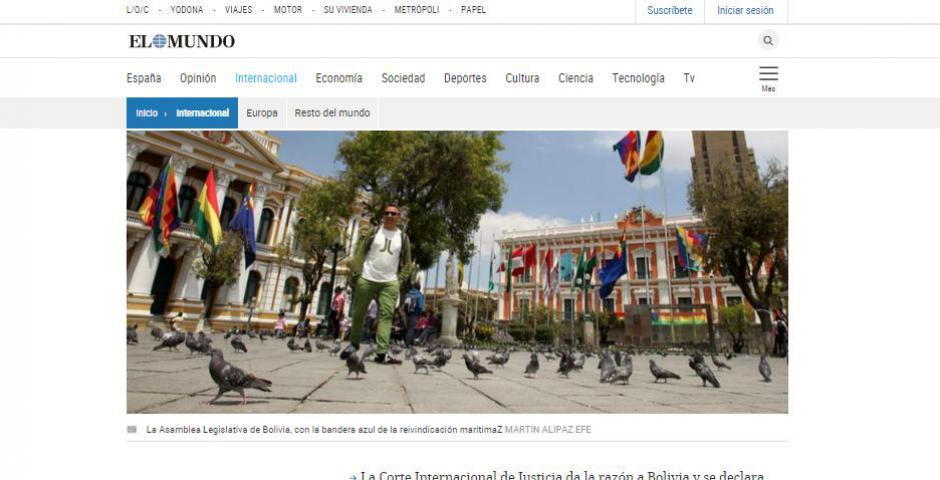 El fallo en La Haya fue noticia destacada en diarios de todo el mundo