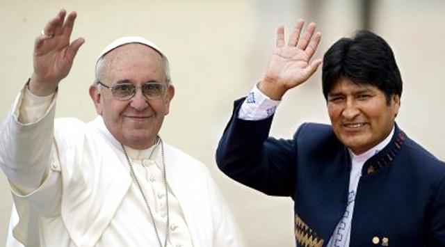 evo morales papa francisco