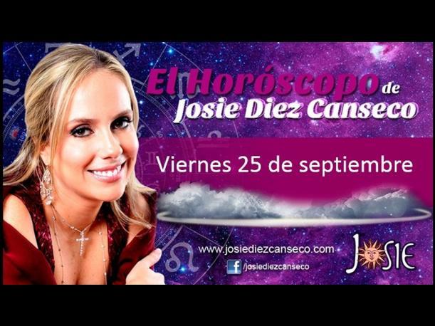 Josie Diez Canseco: Horóscopo del viernes 25 de setiembre (FOTOS)