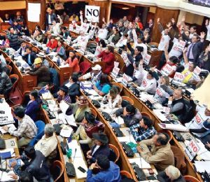 Asamblea defiende reelección de Evo Morales hasta  2025