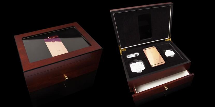 iphone oro rosa real caja 830x415 Este iPhone 6s si que es de oro rosa realmente