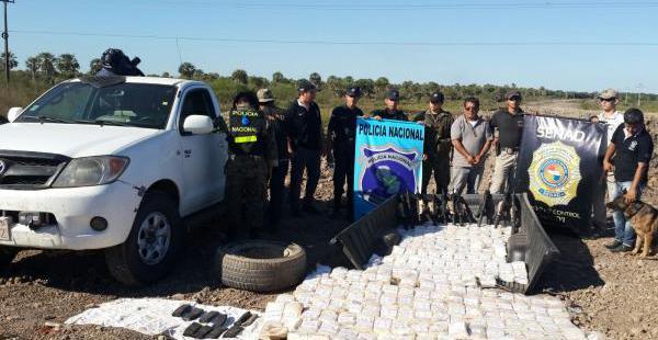 La Policía paraguaya detuvo el vehículo en un operativo rutinario en la que halló la droga