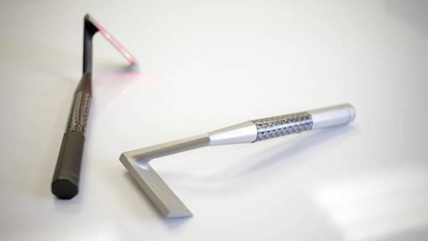 Así será la afeitadora láser que podría salir al mercado en 2016.