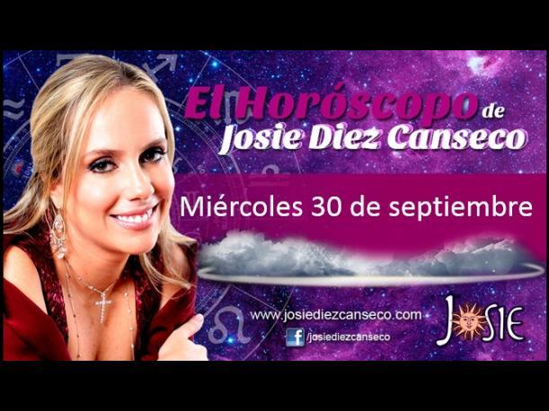 Josie Diez Canseco: Horóscopo del 30 de septiembre (FOTOS)