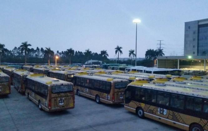 """Los """"pumakatari""""  atrapados por el tifón chino esperan salir en los próximos días del puerto de Xiamen"""