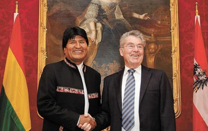 Evo recibirá al presidente de Austria, quien le permitió aterrizar cuando fue el lío del avión