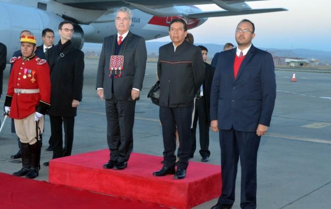 Heinz Fischer, presidente de Austria, ya está en Bolivia y verá el atardecer paceño desde el Teleférico