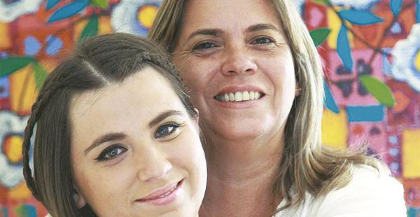 Su gran apoyo Edmee fue un pilar fundamental en la superación de Mariana. Se siente tranquila porque sabe que su hija puede superar cualquier obstáculo.