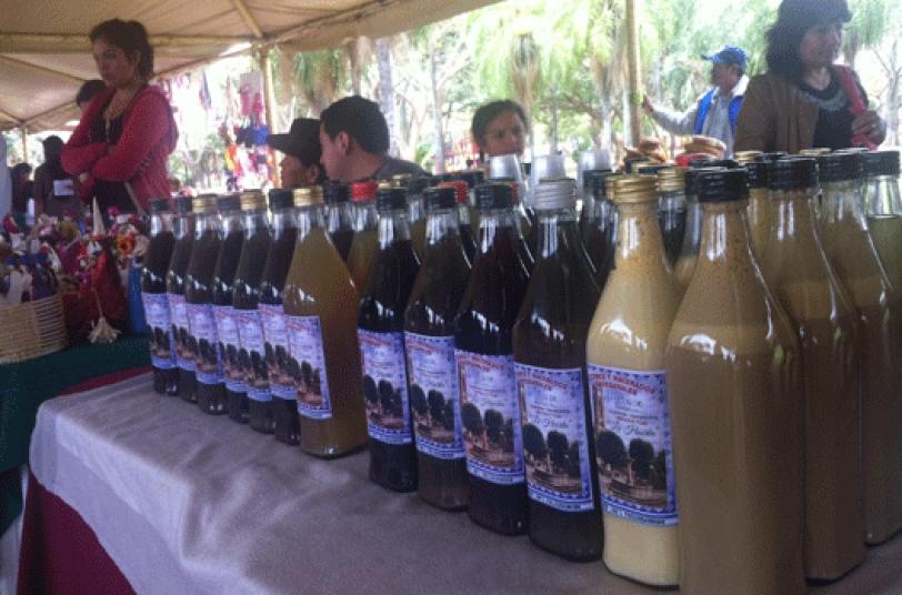 LICORES. Es la especialidad de Samaipata según los productores.