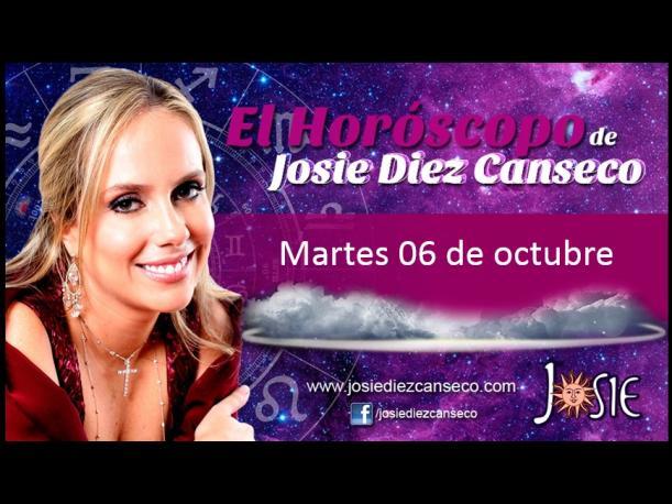 Josie Diez Canseco: Horóscopo del martes 06 de octubre (FOTOS)