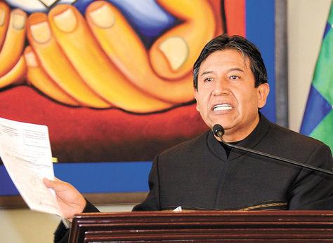 Choquehuanca. El Ministro de Relaciones Exteriores asegura que se busca un trato respetuoso.