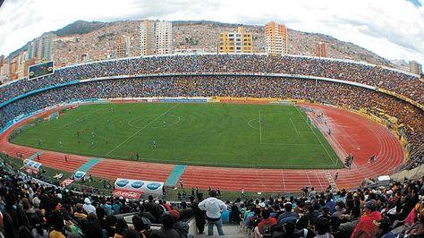 Hernando Siles. El estadio de Miraflores fue vetado más de una vez.