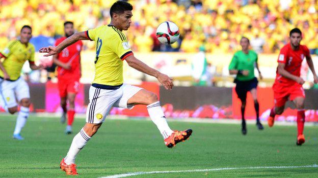 El jugador colombiano Teófilo Gutiérrez