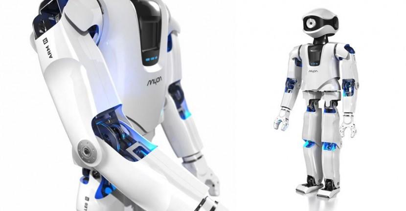 myon e1444388382380 Myon, un robot humanoide capaz de crear su propio lenguaje para interactuar con sus semejantes