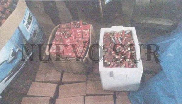 COA secuestra arsenal de municiones en Yacuiba