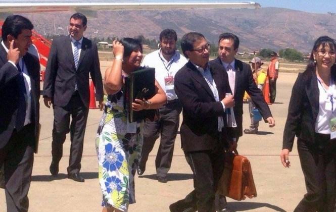 Alcalde de Bogotá y canciller de Francia ya están en Tiquipaya