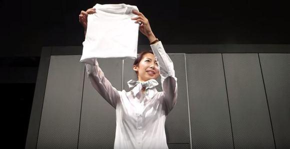 laundroid lavadora Japón desvela la primera lavadora del mundo que dobla la ropa, Laundroid