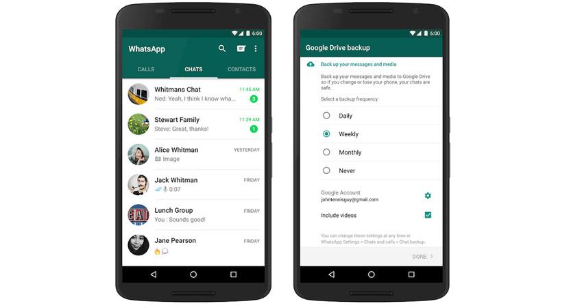 whatsapp drive Ya puedes hacer copia de seguridad de tu WhatsApp de forma oficial a Google Drive