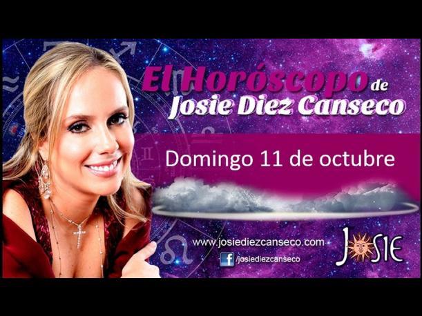 Josie Diez Canseco: Horóscopo del domingo 11 de octubre (FOTOS)