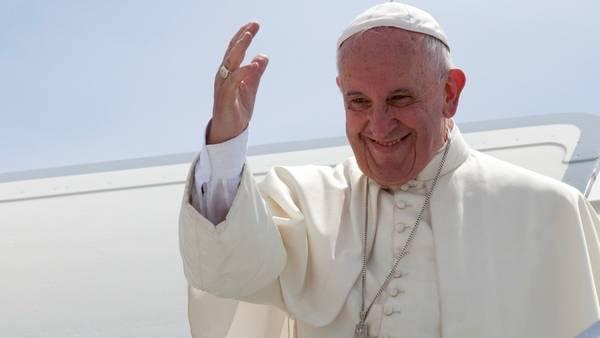 El papa Francisco durante su gira por Cuba y Estados Unidos. (AP)