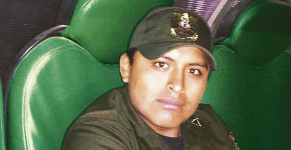 El cabo Eduardo Gonzáles ya tenía una denuncia en abril por violencia