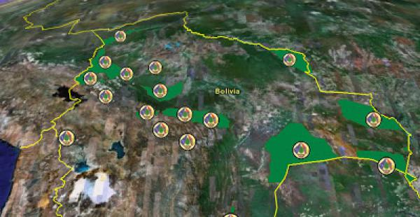 Bolivia tiene 22 parques nacionales protegidos. De ellos, 20 están en riesgo según el Defensor del Pueblo