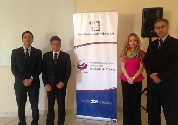 La presentación de la plataforma de valores, ayer en el Hotel Cochabamba. - Los Tiempos Foto   Los Tiempos