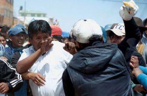Nueve heridos en Caracollo tras gasificación