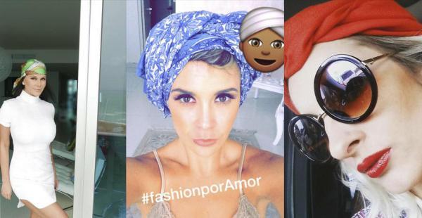 Campaña #fashionporAmor. La influencer Marta Elena Gutiérrez, la presentadora de TV Ximena Xalzer y la modelo Pietrine Wazilewski