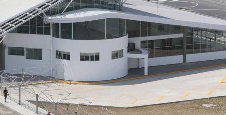 El nuevo aeropuerto cuenta con una terminal especial para carga. Foto: Fuad Landivar