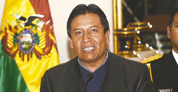 Choquehuanca asegura que las autoridades chilenas no escuchan el clamor de su pueblo