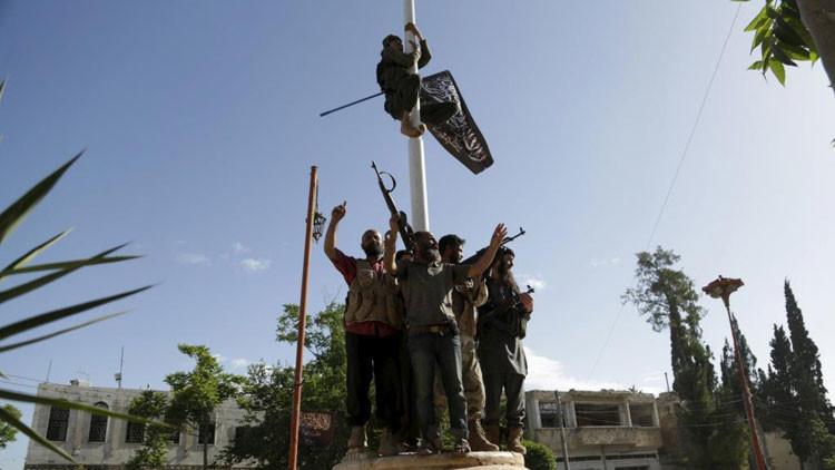 Los miembros del Frente Al Nusra, una rama de Al Qaeda