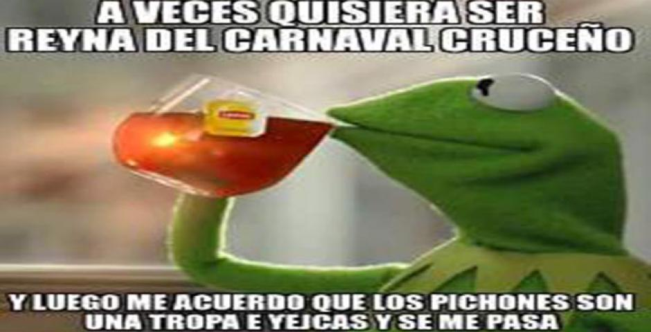 Memes de la reina del Carnaval