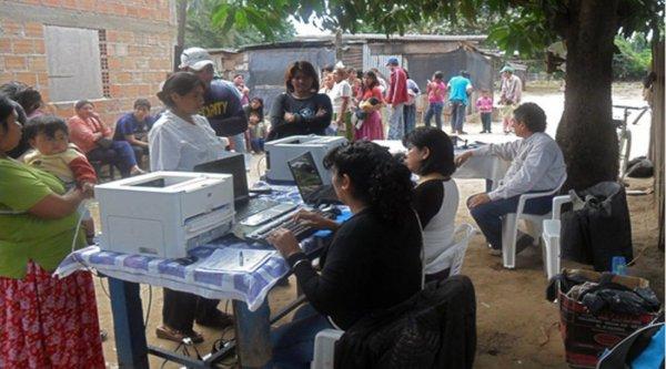 Rivadavia todavía tiene muchos pobladores originarios, de todas las edades, sin un DNI.