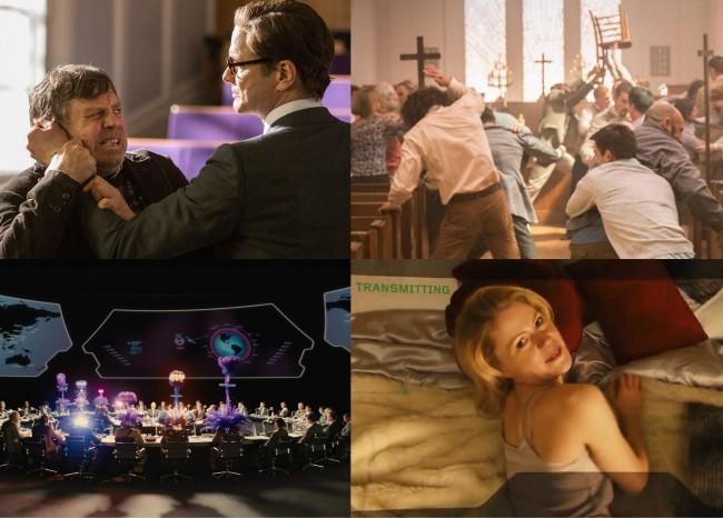 Algunas de las mejores escenas de Kingsman