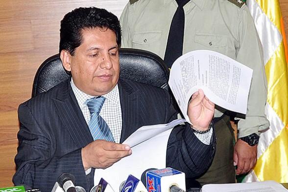 El magistrado del Constitucional, Ruddy Flores. | Foto archivo -   Apg Agencia