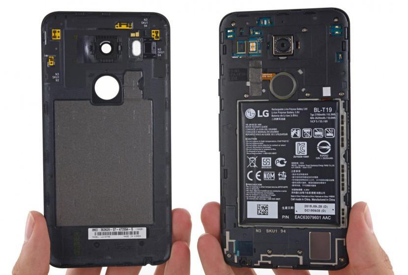 LG Nexus 5X iFixit nos enseña el interior del Nexus 5X