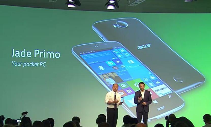 acer jade primo El Jade Primo de Acer será más barato que el Lumia 950