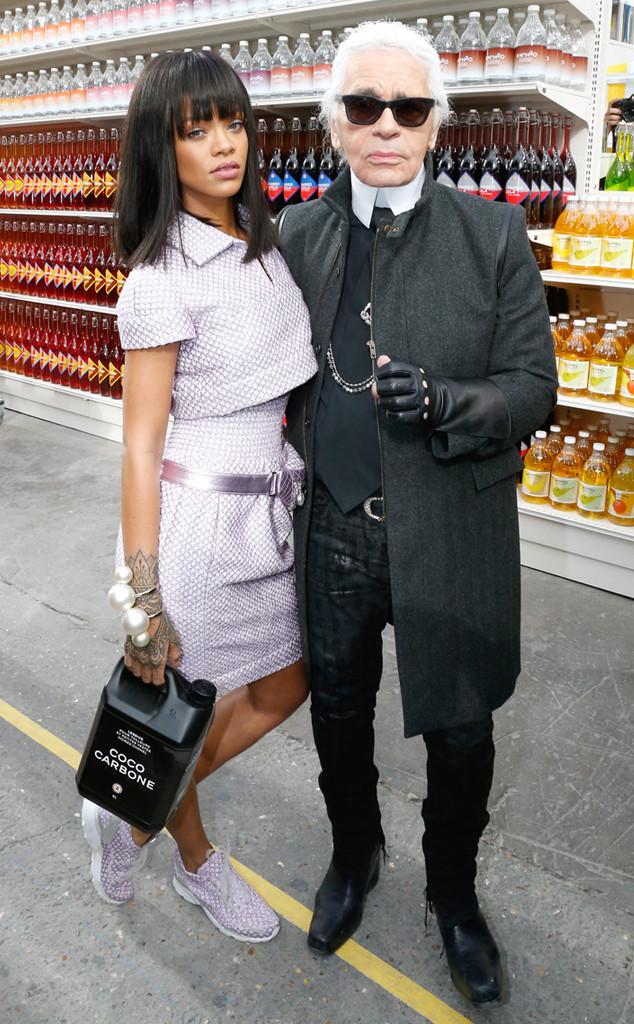 Karl Lagerfeld, Rihanna
